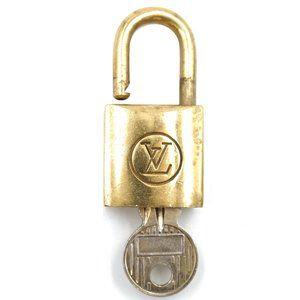 Louis Vuitton Gold Keepall Speedy Lock Key Set#203